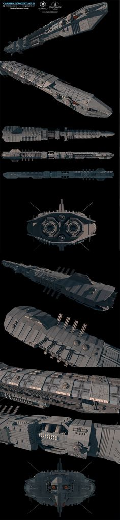 Pre-Alpha Exploratory Concept ship for the upcoming Starfighter, Inc. space combat sim. Check it out at www.impellerstudios.com