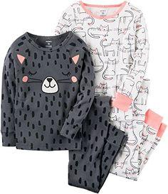 Carter's Girls' 2T-4T 4 Piece Cat Snug Fit Cotton PJs 3T ... https://www.amazon.com/dp/B075SYGHZH/ref=cm_sw_r_pi_dp_x_tangAbRD59SPC