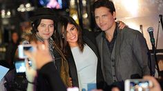 Jackson Rathbone;, Nikki Reed and Peter Facinelli attend the Twilight Forever Fan Experience Exhibit launch at Planet Hollywood Times Square on November 4, 2013 in New York City.