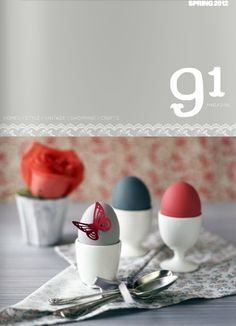 91 magazine spring/2011 #craft #decor #design #interior #style #vintage #quaterly #free