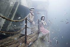 Proyecto Mohawk, increíbles fotos manipuladas bajo el agua