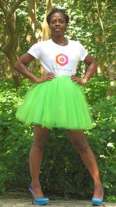 O.C. Mini Tulle Skirt   $80