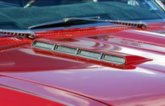 1966 Chevelle SS hood