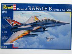 Dassault Rafale B Armee de l'Air Revell 04610 1/48 New Airplane Model Kit