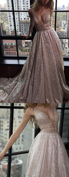 Long Prom Dresses, Sexy Prom dresses, Silver Prom Dresses, Prom Dresses Long, Prom Long Dresses, Long Evening Dresses, Sexy Long Dresses, Sexy Evening Dresses, Sexy Prom Dresses V-neck Silver Organza Long Prom Dress/Evening Dress