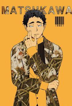 Haikyuu Characters, Anime Characters, Manga Art, Manga Anime, Matsukawa Issei, Haikyuu Volleyball, Haikyuu Yaoi, Art Memes, Anime Boyfriend