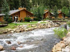 Streamside Estes Park Cabin Rentals | Antlers Pointe  This is where Arion and I stayed on our first anniversary trip!!  It was fantastic!!