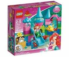 LEGO DUPLO 10515: Ariel's Undersea Castle: Amazon.co.uk: Toys & Games