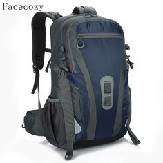 Sports gym bag Facecozy Men Women Multifunctional Hiking Outdoor Backpack  40L Camping Travel Backpacks Softback Instant Waterproof e9247af2b1