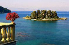 GREECE CHANNEL | #Pontikonisi, #Corfu, #Greece http://www.greece-channel.com/