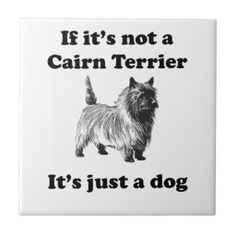 If It's Not A Cairn Terrier Ceramic Tiles