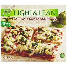 Best Frozen Vegetarian Entrees: Amy's Light & Lean Italian Vegetable Pizza