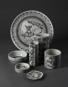 My Bjorn Wiinblad ceramics