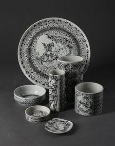 My Bjorn Wiinblad ceramics