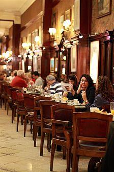 Café Tortoni.  Buenos Aires, Argentina