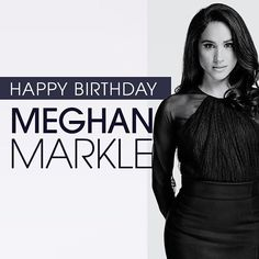#Suitors join us in wishing @MeghanMarkle a very Happy Birthday! by suits_usa