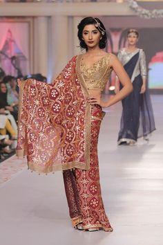 2015 Telenor bridal couture week Sarah Gandapur Dresses Collection Photos