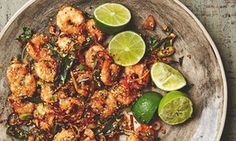 Yotam Ottolenghi's recipe for crisp prawns with oats chilli & ginger   Life and style   The Guardian