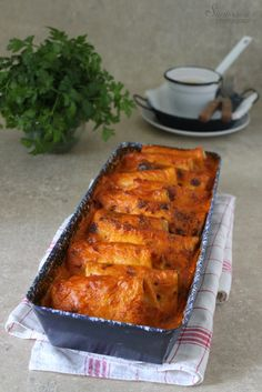 Lasagna, Nom Nom, French Toast, Recipies, Food And Drink, Pork, Cooking, Breakfast, Ethnic Recipes