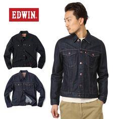 EDWIN エドウィン 46289 LONDON SLIM デニムジャケット