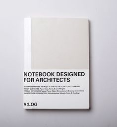 notebook for architects
