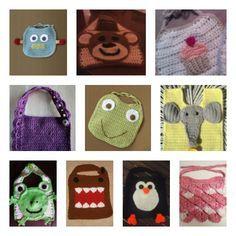 10 FREE Baby Bib Crochet Patterns #free #crochet