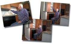 Fantastic! Cabinets that come to you.... http://www.medicalcaresolutions.nl/page/Verstelbaar-keukenframe