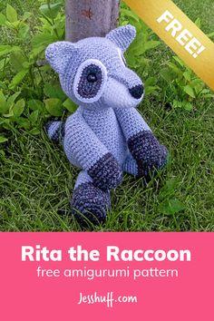 Rita the Raccoon Free Amigurumi Pattern