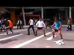 Flash MOb Haka  - Sylvia Park Auckland Too cool!