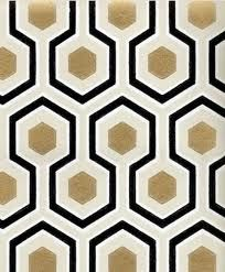gold pattern wallpaper - cannot stand to put wallpaper up now that I've ripped so much down, but this would be cute drawer liner