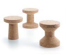 Cork Family Side Table/Stool by Jasper Morrison for Vitra Eco Design, Vitra Design, Chair Design, Modern Design, Cork Table, Recycled Wine Corks, Low Stool, Drink Table, In Vino Veritas