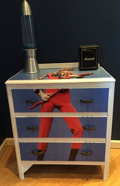 Chest of Drawers featuring David Bowie
