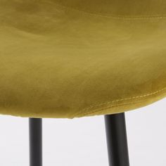 Available in a sunny shade, the CLYDE Yellow Velvet Chair will give you all the energy you Scandinavian Style, Chair Design, Sunnies, Velvet, Yellow, Living Room, Kitchen, Lounge Chairs, Objects