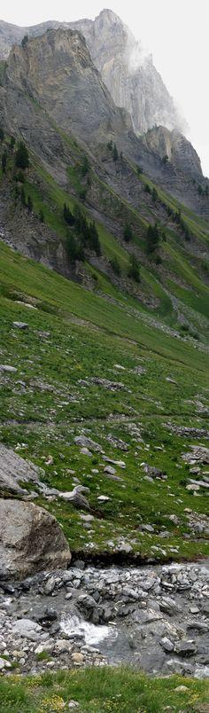 Haut-de-Cry from Chamosentze (Canton of Valais, Switzerland) - © Florian Genier