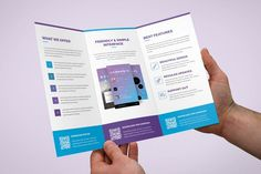 Brochure ¨C Mobile Apps Tri-Fold by artbart