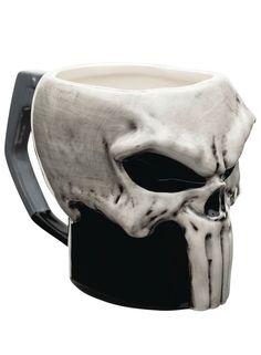 Marvel Sculpted Mugs Series Punisher Mighty Mug