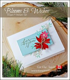 blooms-and-wishes-christmas-card-by-sandi stampinwithsandi.com