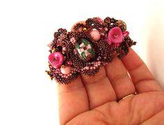 Beaded jewelry BBeadwork bracelet seed bead bracelet от ibics