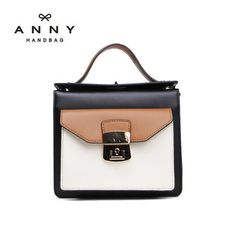 Anny free shipping women's leather shoulder bag  mini bag leather single shoulder bag korea style messenger bag