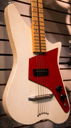 """This """"Astro"""" came in parts as a kit. The feel is very similar to a Danelectro guitar."""