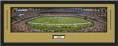 NFL- New Orleans Saints - Superdome Stadium Framed Panoramic With Team Color Double Matting & Name plaque Art and More, Davenport, IA http://www.amazon.com/dp/B00H9ET3A8/ref=cm_sw_r_pi_dp_8thHub1J8W7D1