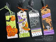Halloween Tags Stampin' Up! Toil & Trouble Suite