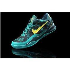 www.asneakers4u.com/ Nike Zoom Kobe 8 VIII  Women Shoes Green/Yellow