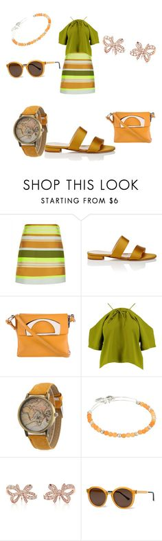 """""""Untitled #1238"""" by shannongarner ❤ liked on Polyvore featuring Jaeger, Barneys New York, Christian Louboutin, Boohoo, Alex and Ani, Tiffany & Co. and Thierry Lasry"""