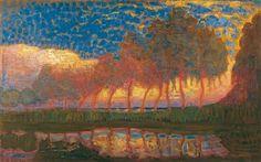 Bomen aan het Gein, Piet Mondrian