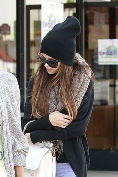Selena Gomez style, the hair color