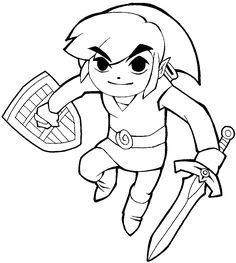Raskraska Ssylka Pobegi S Rogatkoj V Video Igry Legenda O Zelda