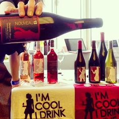 I think you should come try the #beaujolaisnouveau ;-) #brussels #winemarket