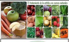 Zumos naturales de estos alimentos para combatir  El Artritis