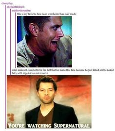 This is so awesome! Classic dean!